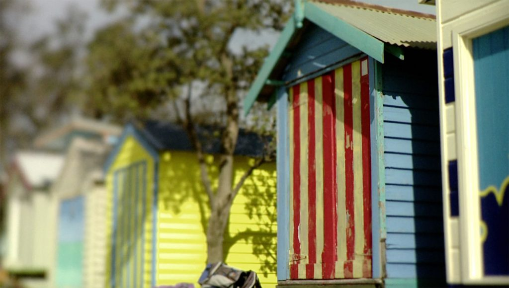 mornington peninsula winery tour visiting the quintessential bathing boxes.